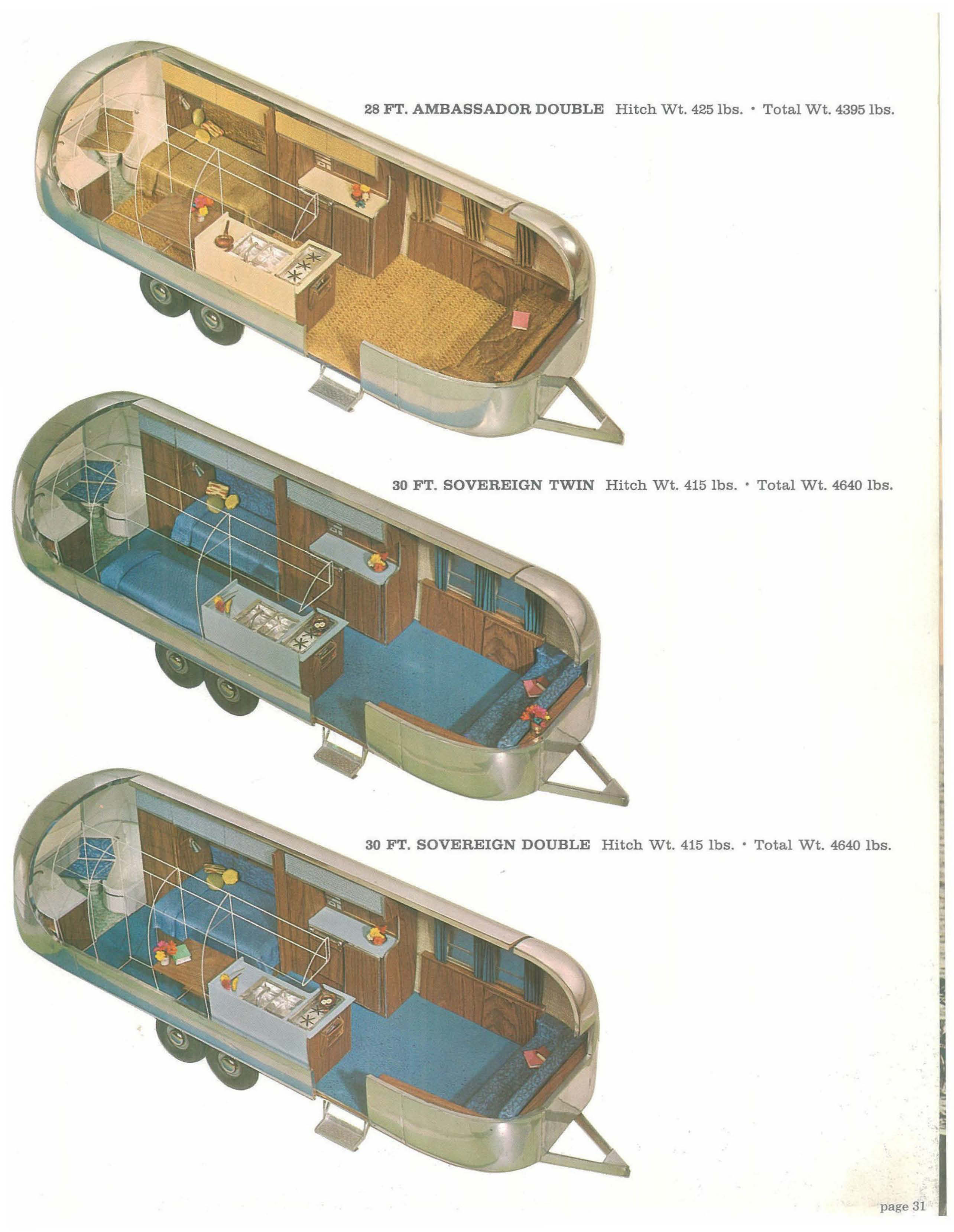 Some 1968 Airstream Specifics Betty